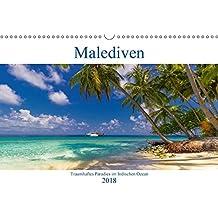 Malediven - Traumhaftes Paradies im Indischen Ozean (Wandkalender 2018 DIN A3 quer): Paradiesische Traumstrände auf den Malediven (Monatskalender, 14 ... Orte) [Kalender] [Apr 15, 2017] Heuvers, Elly