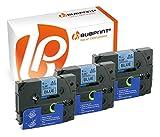 Bubprint 3 Schriftbänder kompatibel für Brother TZE-521 TZE521 für P-Touch 1280 2430PC 2730VP 3600 9500PC 9700PC D400VP D600VP H100LB H105 P700 P750W