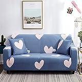 Sofa Überwürfe Sofabezug 2 Sitzer, Morbuy Elegant Elastisch Ecksofa L Form Stretch Antirutsch...