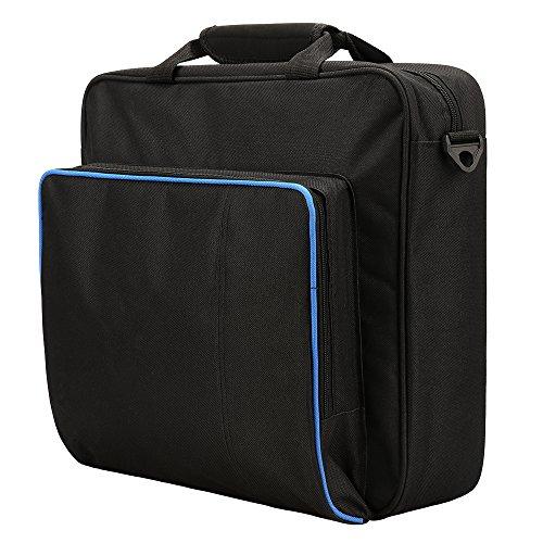 Villavivi storage borsa alla tracolla zaino per console ps4 pro, ps4 originale, ps4 slim (ps4 pro)