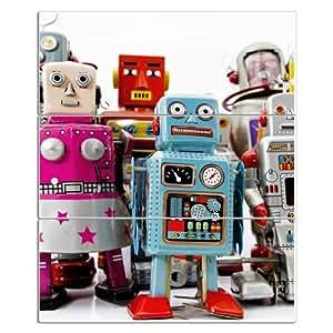 NEW magnétique horizontal Format 75x 88cm avec motif: Robot