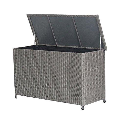 garten aufbewahrungsbox slate grau klein kissen box f r garten zubeh r kaffeemaschinekaffee. Black Bedroom Furniture Sets. Home Design Ideas