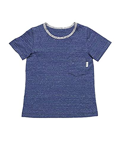 Oceankids Fille Summer Single Pocket Sport Chemise avec col rond