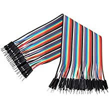 Robodo OTH13 Male to Male Jumper Wires 40 Pieces