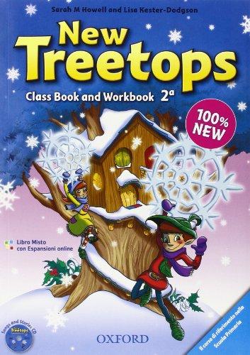 New treetops. Coursebook-Workbook. Per la Scuola elementare. Con CD Audio. Con espansione online: 2
