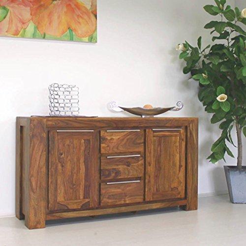STORME Sideboard 150/40/80 cm Kommode Anrichte Wohnzimmerschrank Konsole Palisander Massivholz