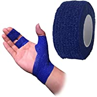 Haftbandage/Selbsthaftende Bandage, blau, 2,5Zentimeter x 4,5Meter preisvergleich bei billige-tabletten.eu
