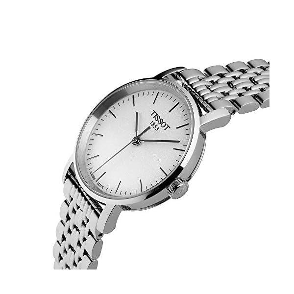 Tissot Reloj Analógico para Unisex Adultos de Cuarzo con Correa en Acero