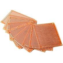 10x 7x9cm Lochrasterplatte Leiterplatte Streifenraster Platine PCB Board
