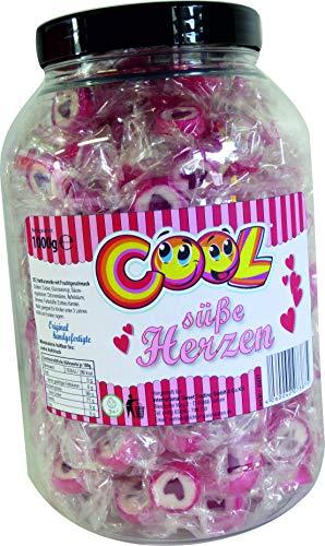 Cool süße Herzen Dose 1kg