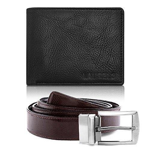 Laurels Men's Combo Pack of Wallet & Belt (Cp-Urb-02-Vt-0209)