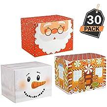 30 Cajas para Empaque de Regalos Navideños– Mejor que el Papel de Embalaje de Navidad