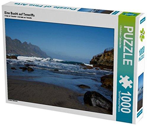 Preisvergleich Produktbild Eine Bucht auf Teneriffa 1000 Teile Puzzle quer (CALVENDO Natur)
