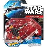 Hot Wheels Star Wars Poe's X-Wing Fighter (Closed Wings) Die-Cast Vehicle by Mattel