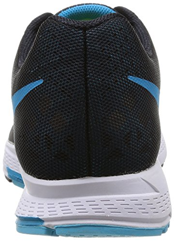 Nike Air Zoom Pegasus 31, Chaussures de Running Homme Noir (Black/Blue Lagoon/Clearwater/White)