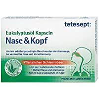 Eukalyptusöl Kapseln Nase & Kopf, von tetesept – Wirksam bei erkältungsbedingten Beschwerden der Atemwege - bei... preisvergleich bei billige-tabletten.eu