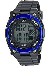 Sonata Fibre (SF) Digital Grey Dial Men's Watch-77081PP02