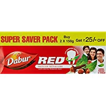Dabur Red Tooth Paste Super Saver Pack - 300 g