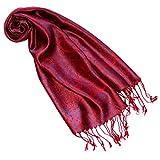 Lorenzo Cana Luxus Seidenschal für Frauen Schal 100% Seide gewebt Damenschal elegant Paisley Muster Mehrfarbig