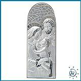ICONA SACRA SACRA FAMIGLIA CUPOLA LAMINATA CON RETRO LEGNO MIS. 19X50 CM. | Articoli religiosi e regali religiosi, oggetti sacri e immagini sacre on line su Albalu.it