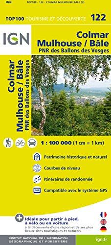 Top100122 Colmar/Mulhouse/Bale 1/100.000
