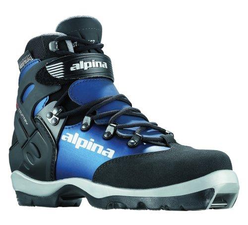 alpina Damen bc-1550Eve wartet Nordic Langlauf Ski Stiefel für nnn-bc Bindungen, Blk/Indigo (Nnn Ski-bindungen)