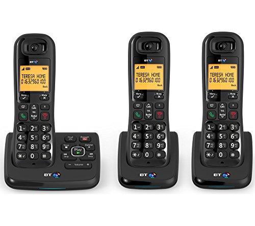 BT XD56Trio Cordless con segreteria telefonica e Nuisance Call Blocker