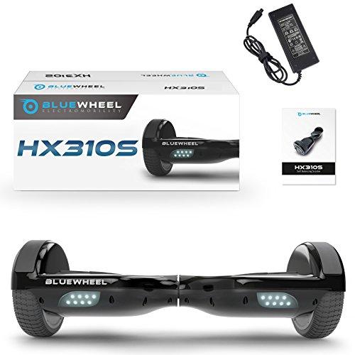 """6.5"""" Premium Hoverboard Bluewheel HX310s - Deutsche Qualitäts Marke - Kinder Sicherheitsmodus & App - Bluetooth Lautsprecher - Starker Dual Motor - LED - Elektro Skateboard Self Balance Scooter (Schwarz)"""