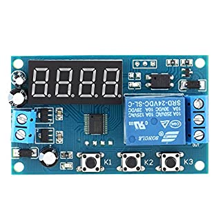 KKmoon Multifunktions Delay Time Modul Switch Control Relay Zyklus Zeitrelais DC 24V/12V¡
