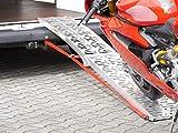 Alu Auffahrrampe Rampe 340 kg klappbar Motorradrampe