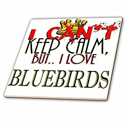 3D Rose I Cant Keep Calm Bluebirds