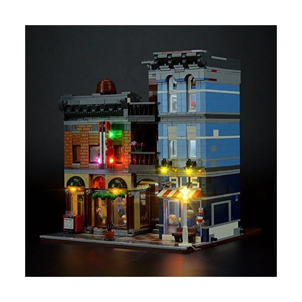 LIGHTAILING Set di Luci per (Creator Expert Ufficio Dell'Investigatore) Modello da Costruire - Kit Luce LED Compatibile… 1 spesavip