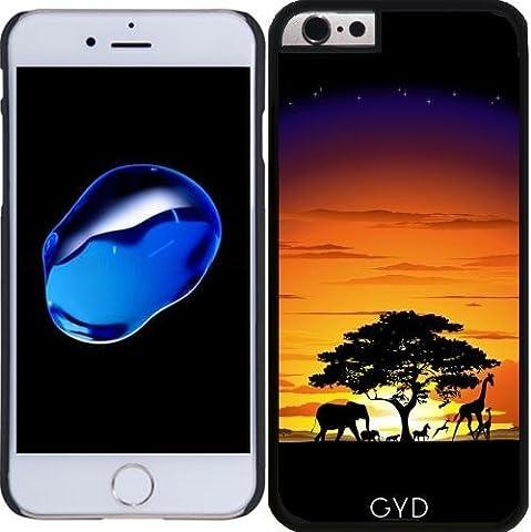 Hülle für Iphone 6 Plus (5,5'') - Wilde Afrika Savanne