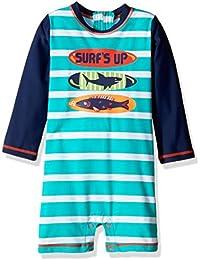 Hatley Baby Swim Shirt, Traje de baño de una Pieza para Bebés