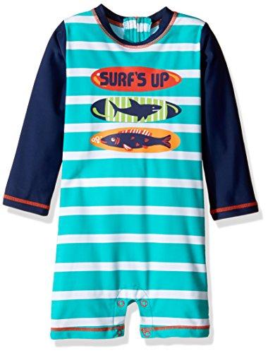 Hatley Baby-Jungen One-Piece Rash Guard Swimsuits Badeanzug, ((Surfboards), ((Herstellergröße: 18-24 Monate)