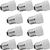 10 Kit de Ahorro EVolution Base de lámpara Adaptador Casquillo de lámpara Conversor E27 a GU10