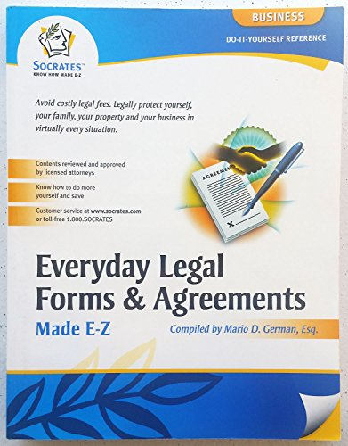Everyday Legal Forms & Agreements