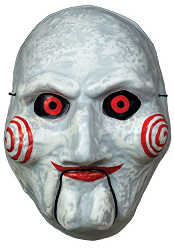 Adult Saw Billy Puppet Vacuform Mask Standard (The Puppet Saw Billy)