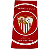 Sevilla CF Toasev Toalla, Rojo/Blanco, Talla Única