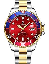 Swiss Rainbow - Reloj de Pulsera para Hombre, mecánico, automático, de Acero Inoxidable
