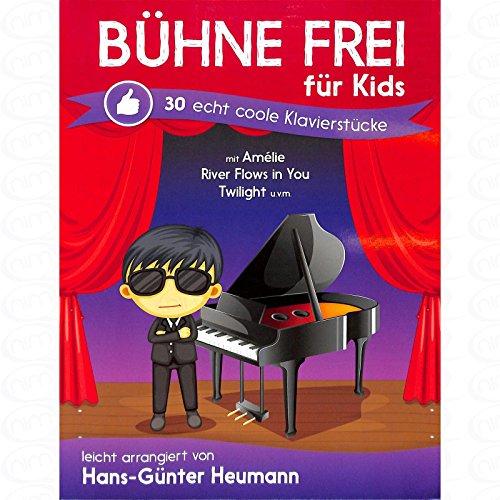 Buehne frei fuer kids - arrangiert für Klavier [Noten/Sheetmusic]