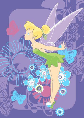 Preisvergleich Produktbild Associated Weavers FA02 Disney Fairies Tink Tropical Teppich 95 x 133 cm