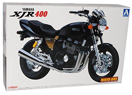 Yamaha XJR400 Schwarz 041796 Kit Bausatz 1/12 Aoshima Modell Motorrad Modell Auto
