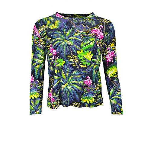 Ralph-Lauren-camiseta-de-manga-larga-para-mujer-Tropical-multicolor-multicolor-M