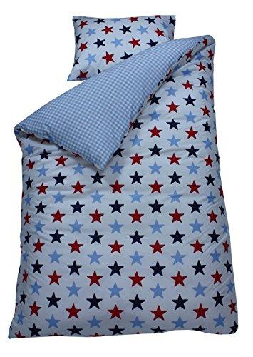 Bink Bettwäsche Bettbezug mit Kissenbezug, schokolade 60x 70cm Braun, 120x 150cm-p, baumwolle, blau, 121 x 170 x 0.64 cm (Schokolade Braun Bettbezug)
