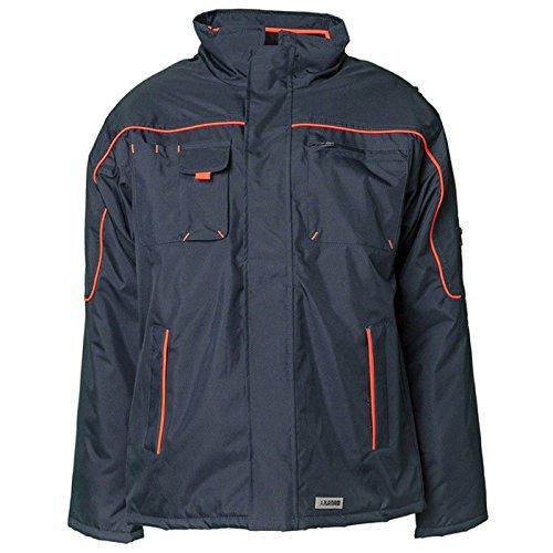 Preisvergleich Produktbild Planam Jacke Winter Piper, größe M, marine / orange, 3536048