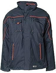 Planam Jacke Winter Piper, größe XL, marine / orange, 3536056