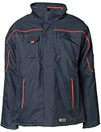 Planam Jacke Winter Piper, größe M, marine / orange, 3536048