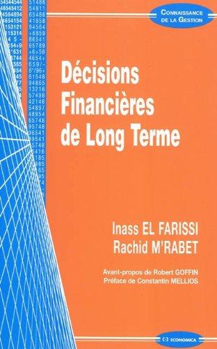 Décisions financières de long terme