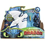 Dragons 3 - 6052266 - Jeu enfant - Figurine d'Action - Pack Dragon & Viking - Harold & Lightfury - Film Dragons 3 Le Monde Caché